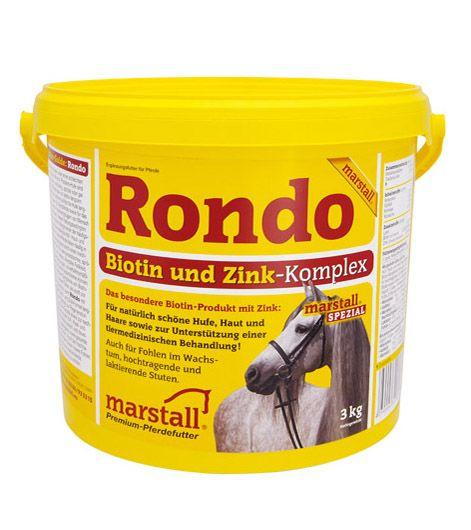 Rondo / Рондо, подкормка для копыт, кожи и шерсти 1 и 3 кг. Marstall