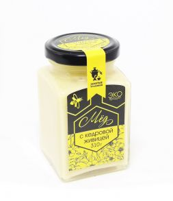 Мёд с кедровой живицей, 310 гр
