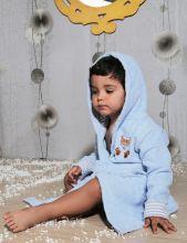 """Халат махровый детский с капюшоном """"KARNA""""  TEENY  Арт.912/1-1"""