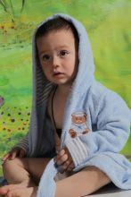 """Халат махровый детский с капюшоном """"KARNA""""  TEENY  Арт.912/1-2"""