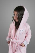 """Халат махровый детский с капюшоном """"KARNA""""  TEENY  Арт.912/2-1"""