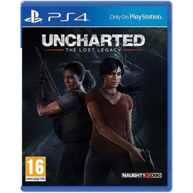 Игра Uncharted Утраченное Наследие (PS4)