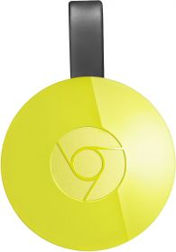 Медиаплеер Google Chromecast 2015 (yellow)
