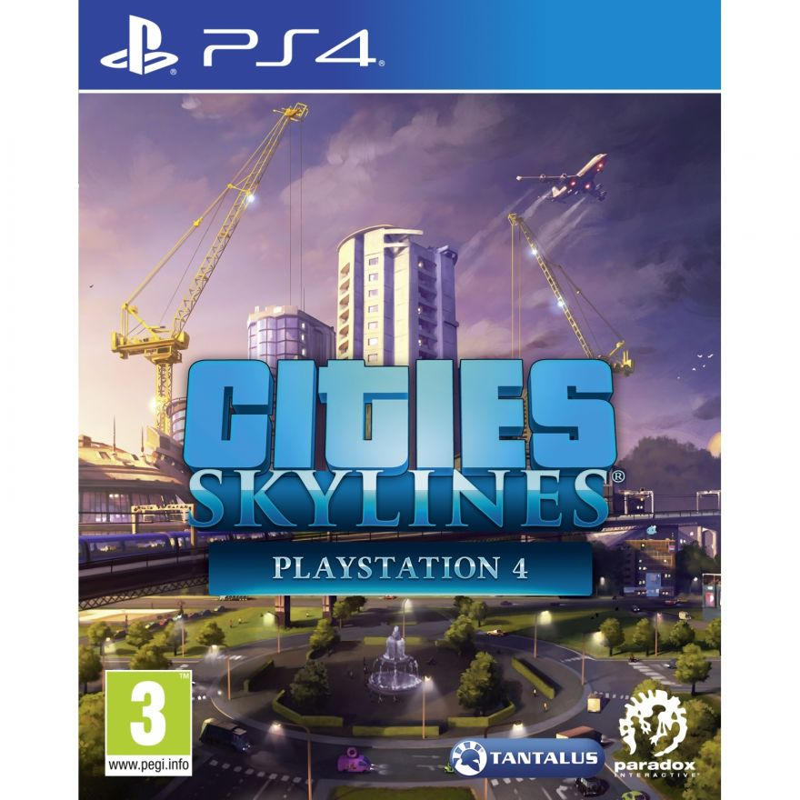 Игра Cities Skylines (PS4)