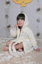 """Халат махровый детский с капюшоном """"KARNA""""  TEENY  Арт.912/3-1"""
