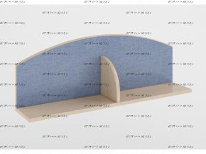Полка Легенда Л-05 (90,2×18×31,2)