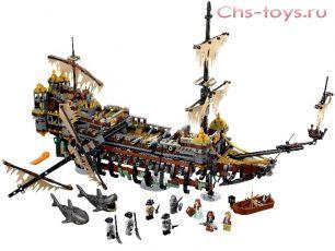 Конструктор Lari Пираты Безмолвная Мэри 10680 (71042) 2324 дет