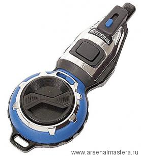Отбивка чернильная (отбивочный шнур) Shinwa 20 м синий корпус Pro Plus, автоматический возврат нити М00013234
