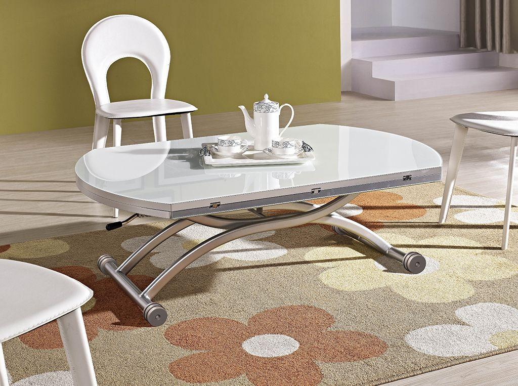 Уникальный журнально-обеденный стол трансформер B 2252