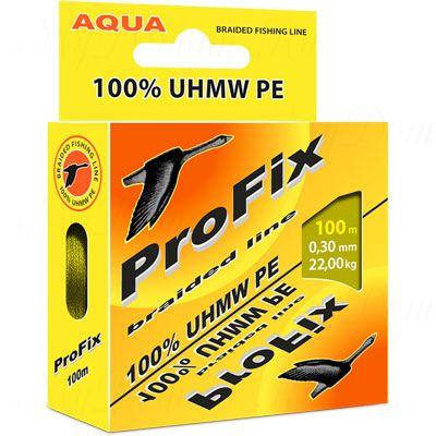 Плетеный шнур AQUA PROFIX 100m olive, d=0,35mm