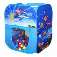 Игровой домик Ocean квадратный с мячиками (100 шт)