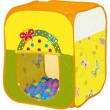 Игровой домик Butterfly с мячиками квадратный