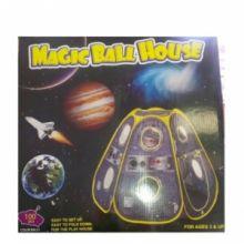Игровой домик Космический корабль с мяч. (100 шт)