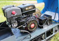 Вепс Winter Стандарт/Лонг/Мини VW 500 B17 (1450мм) мотобуксировщик с гусеницей шириной 500 мм, вариатором Safari и двигателем SamSan/Lifan, мощностью 17 л. с., передний привод. Инструментальный ящик.