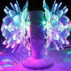 Светодиодная диско-лампа, вращающаяся Perfeo (PL-05S dual lotus) двойная