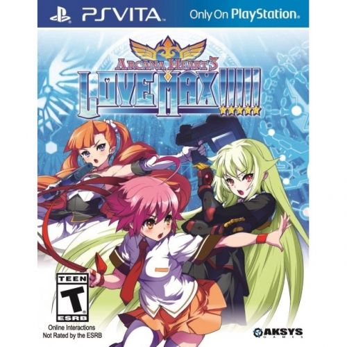 Игра Arcana Heart 3 Love Max!!!!! (PS Vita)