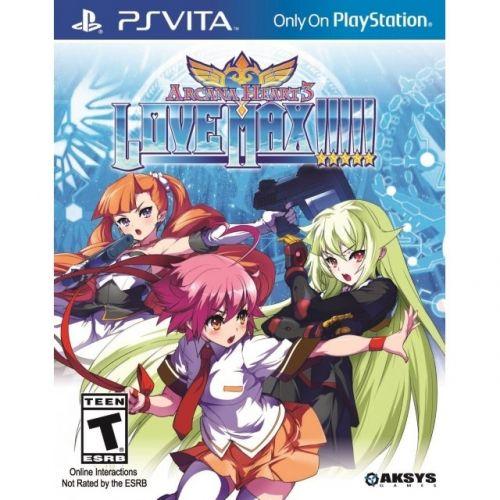 Игра Arcana Heart 3 Love Max!!!!! (PS Vita)
