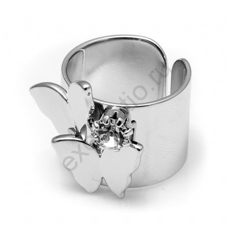 Кольцо Moon Paris MoD-1705-025. Коллекция Ringo Бабочки