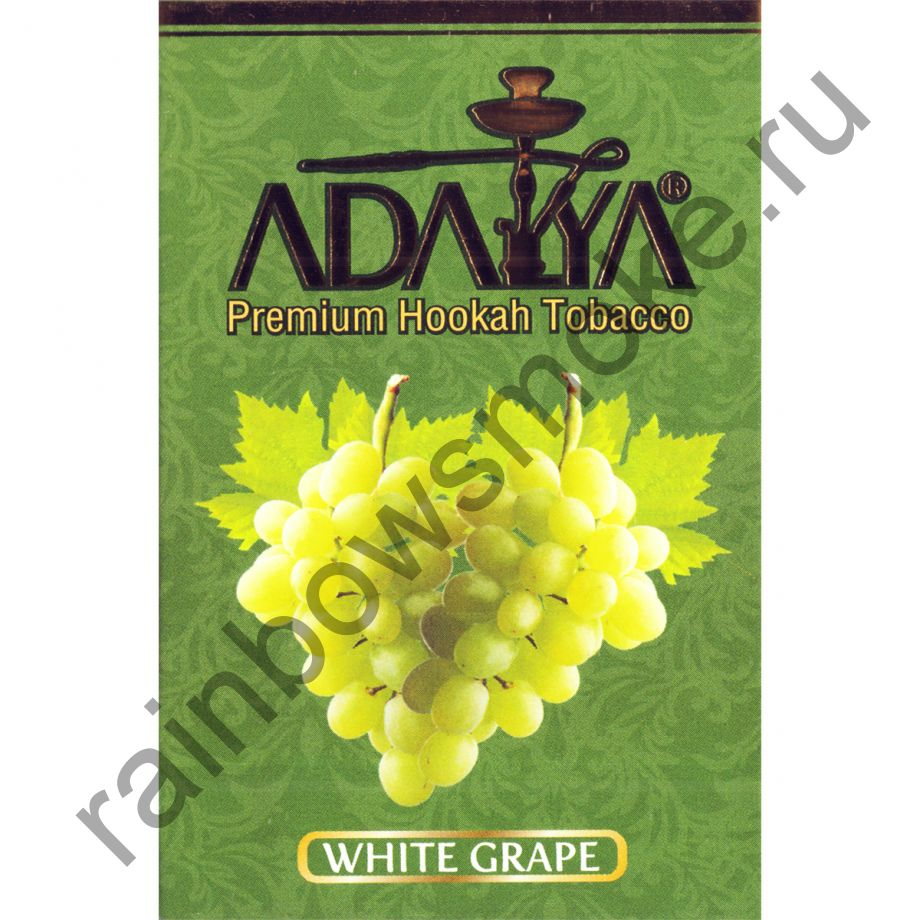 Adalya 50 гр - White Grape (Белый Виноград)