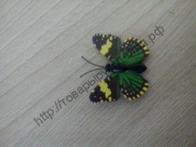 бабочка пластиковая 4см №57