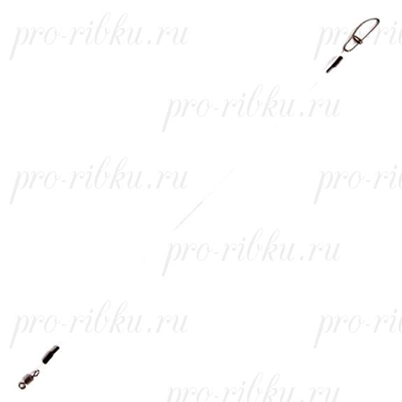 Поводок флюорокарбоновый RUBICON 30кг d=1,00, 30см (10шт)