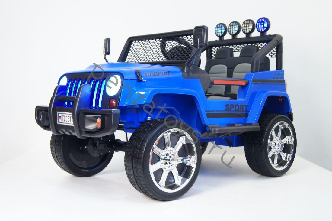 Электромобиль Т008ТТ Jeep 4*4