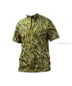 Футболка Kosadaka TSSB-CMS Camouflage Sunblock, UV защита, коротким рукавом