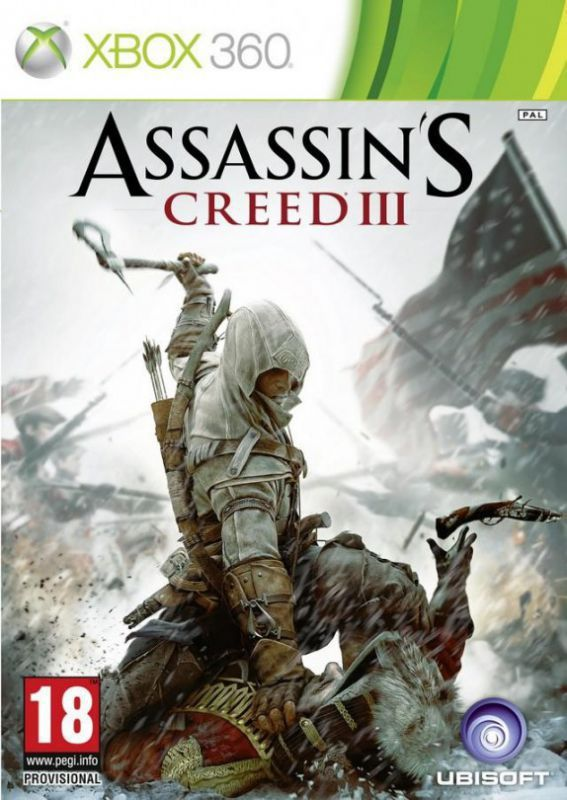 Игра Assassin's Ceed 3 (III) (Xbox 360)