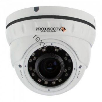 Антивандальная  IP (5Mp, OmniVision OS05A10, 2.8-12мм, POE, SD, аудио вх)  видеокамера PX-IP-DNT-V50-P/A/C