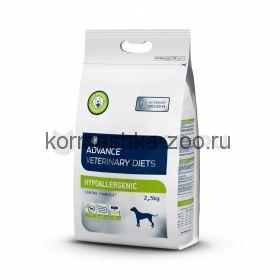 Advance гипоаллергенный корм для собак с проблемами ЖКТ и пищевыми аллергиями, Hypoаllergenic