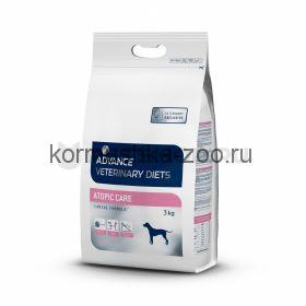 Advance для собак при дерматозах и аллергии Atopic Care
