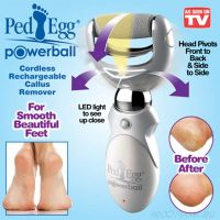 Пилка для огрубевшей кожи ног Ped Egg Powerball