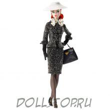 "Коллекционная кукла Барби ""Черно-белый твидовый костюм""  - Black & White Tweed Suit Barbie Doll"