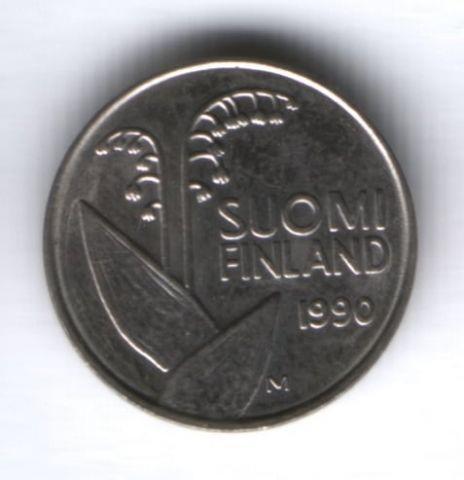 10 пенни 1990 г. Финляндия