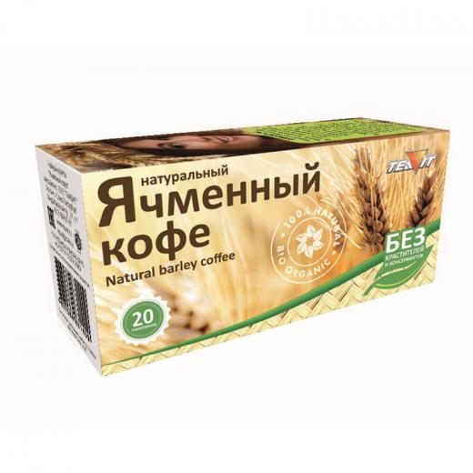 Ячменный кофе, молотый, 20 фильтр-пакетов