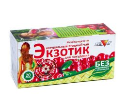 """Чайный напиток """"Экзотик""""Для похудения"""" (20фильтр-пакетов)"""
