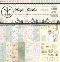 "Набор бумаги ""Magic Garden"" от Bee Shabby"