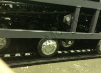 Вепс Winter Long VW 500 B15 (1760мм) мотобуксировщик с удлиненной грузовой рамой, гусеницей шириной 500 мм, вариатором Safari и двигателем SamSan/Lifan, мощностью 15 л. с., передний привод