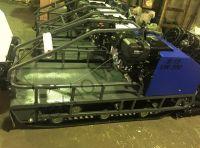 Вепс Winter Long VW 500 B17 (1760мм) мотобуксировщик с удлиненной грузовой рамой, гусеницей шириной 500 мм, вариатором Safari и двигателем SamSan/Lifan, мощностью 17 л. с., передний привод