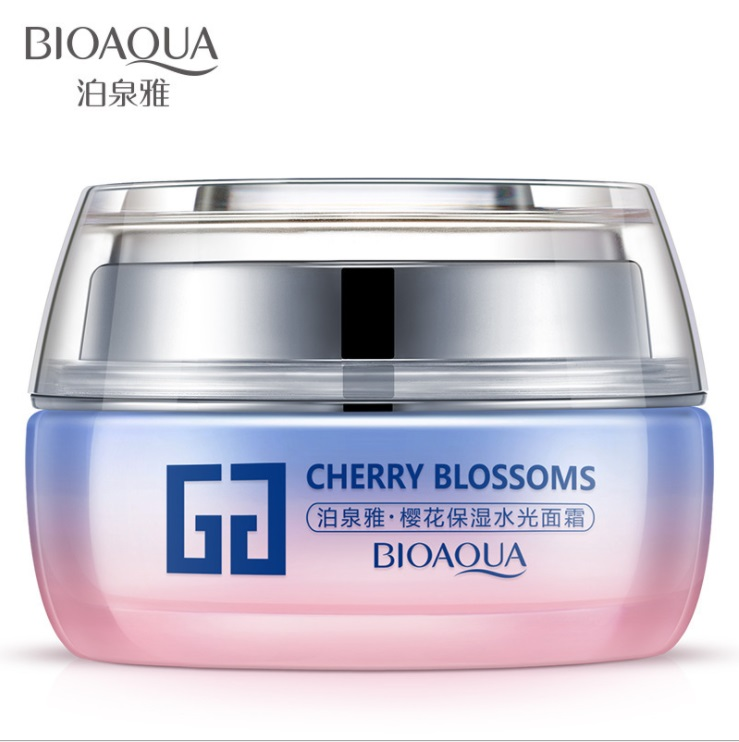Bioaqua Cherry Blossoms Крем для лица, Вишневый цвет, 50г