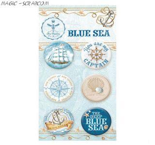 "Топсы ""Blue Sea"" от Bee Shabby"