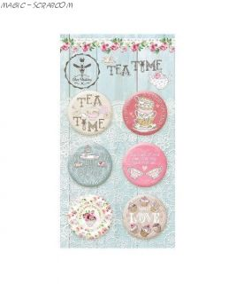 """Топсы """"Tea Time"""" от Bee Shabby"""