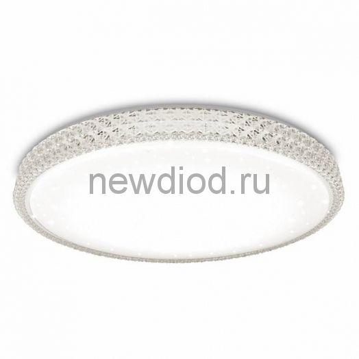 Управляемый светодиодный светильник PLUTON 60W R-600-SHINY-220V-IP44 Круг