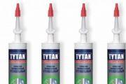силиконовый герметик  для окон tytan