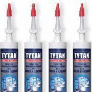 герметик для кухни и ванной tytan силиконакриловый