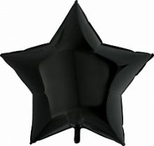 """Фигура """"Звезда"""" чёрный, 36/ 91 см, Италия"""