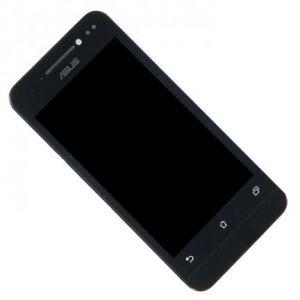LCD (Дисплей) Asus A400CG Zenfon 4 (в сборе с тачскрином) (в раме) (black) Оригинал