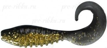 Приманка Berkley FLEX GRUB 5CM (X200) CLEAR GOLD BLACK
