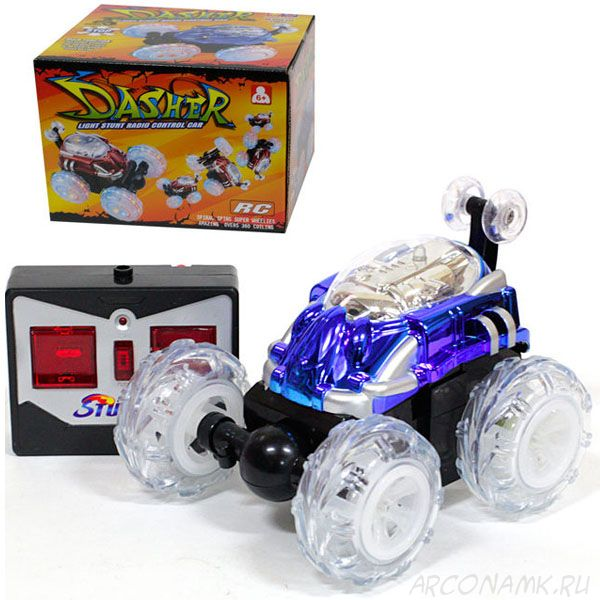 Машинка-перевертыш радиоуправляемая Dasher