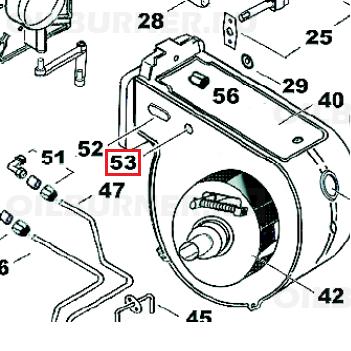 Овальный резиновый буфер Kroll арт. 034398